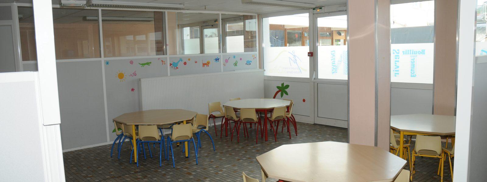 Espace Restauration réservé aux maternelles